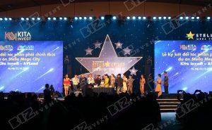 biz event cung cấp âm thanh ánh sáng tổ chức lễ ra quân stella mega city6