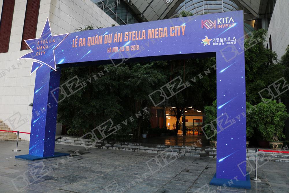 biz event cung cấp âm thanh ánh sáng tổ chức lễ ra quân stella mega city8