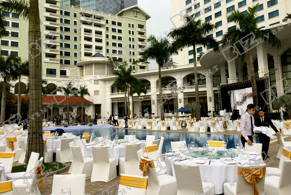 tổ chức sự kiện tại khách sạn