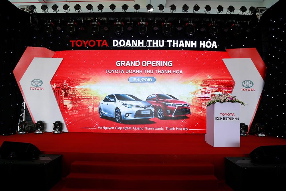 Khai Trương Showroom Toyota Doanh Thu
