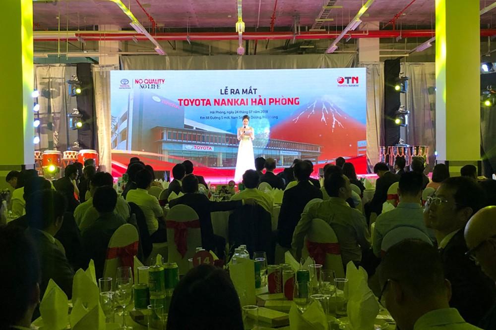 Khai Trương Toyota Hải Phòng