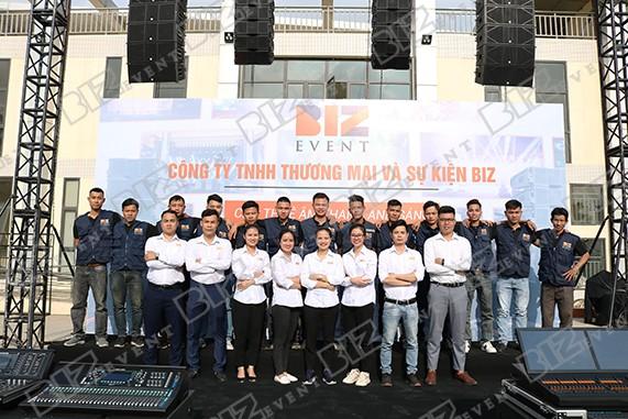 đội ngũ nhân sự Biz event